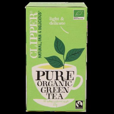 Clipper Pure Organic Green Tea Bio (20 Theezakjes)