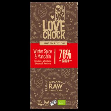 Lovechock Spéculoos & Mandarine 76% de cacao (70 g)