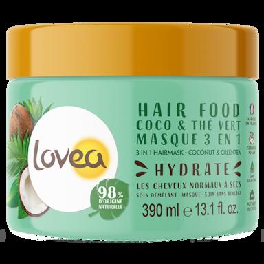 Lovea 3 in 1 Hairmask Coconut & Grean Tea (390ml)