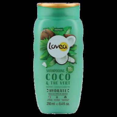 Lovea Shampoo Coconut & Green Tea (250ml)