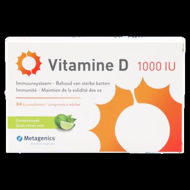 Metagenics Vitamine D 1000 eenheden (i.e.) (84 kauwtabletten)