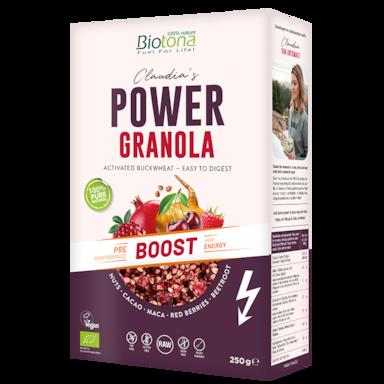Biotona Power Granola Boost Bio (250gr)
