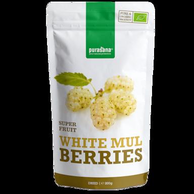 Purasana White Mul Berries Bio (200gr)