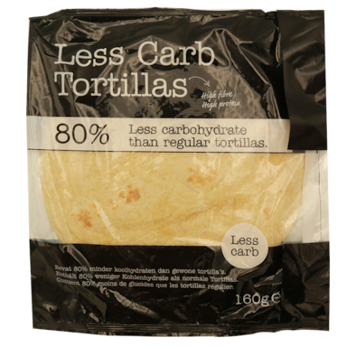 Smaakt Less Carb Tortillas (160 g)