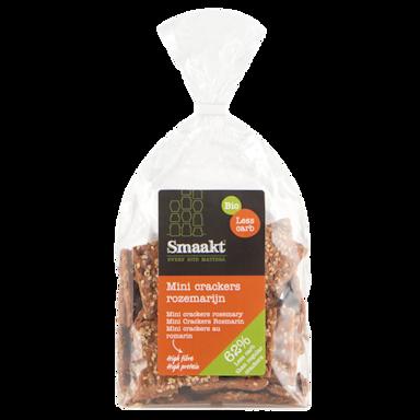 Smaakt Less Mini crackers au romarin Bio (200 g)