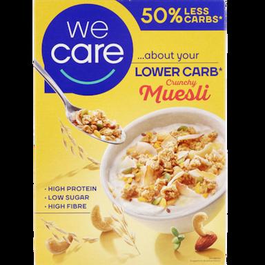 WeCare Lower Carb Crunchy Muesli (vervanger Atkins)