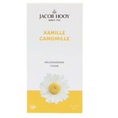 Jacob Hooy Kamille (20 Theezakjes)