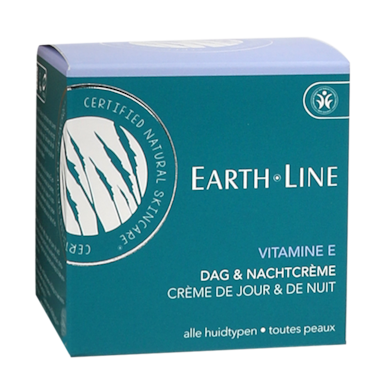 Earth·Line Vitamine E Dag & Nacht Crème