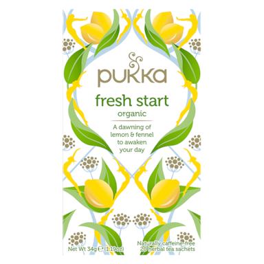 Pukka Fresh Start Organic Bio (20 theezakjes)