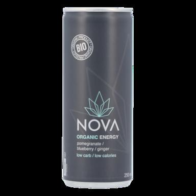 Nova Organic Energy Grenade, myrtille et gingembre (250 ml)