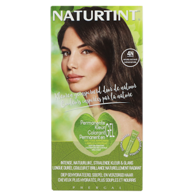 Naturtint Permanente Haarkleuring 4N Naturel Kastanje