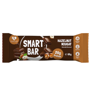 Women's Best Smart Bar - Hazelnut Nougat (60gr)