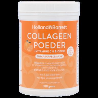 Holland & Barrett Collageen Poeder + Vitamine C & Biotine (300g)