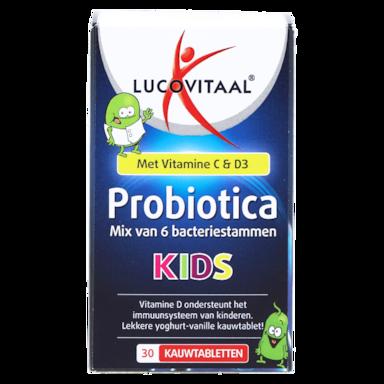 Lucovitaal Probiotica Kids kauwtabletten (30 kauwtabletten)