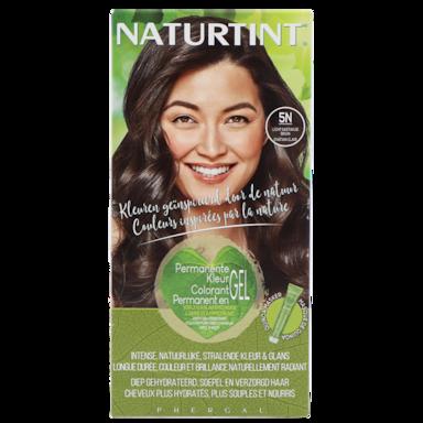 Naturtint Permanente Haarkleuring 5N Licht Kastanje Bruin