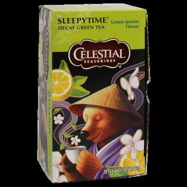Celestial Seasonings Sleepytime Green Decaf Lemon Jasmin (20 Theezakjes)