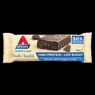 Atkins Double Chocolate Reep 60gr