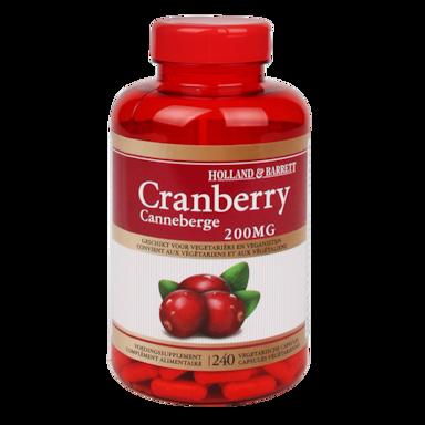 Holland & Barrett Cranberry, 200mg (240 Capsules)