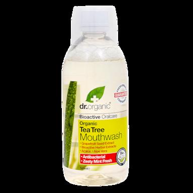 Dr. Organic Tea Tree Mondwater