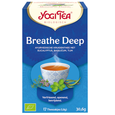 Yogi Tea Breathe Deep Bio (17 Theezakjes)