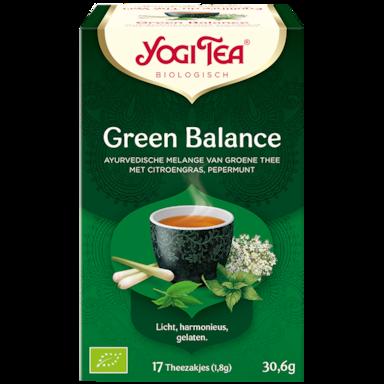 Yogi Tea Green Balance Bio (17 Theezakjes)
