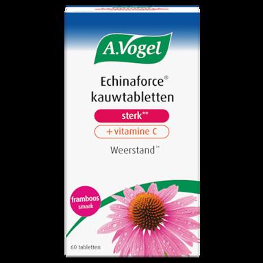 A.Vogel Echinaforce Kauwtabletten Sterk Met Vitamine C (60 Tabletten)