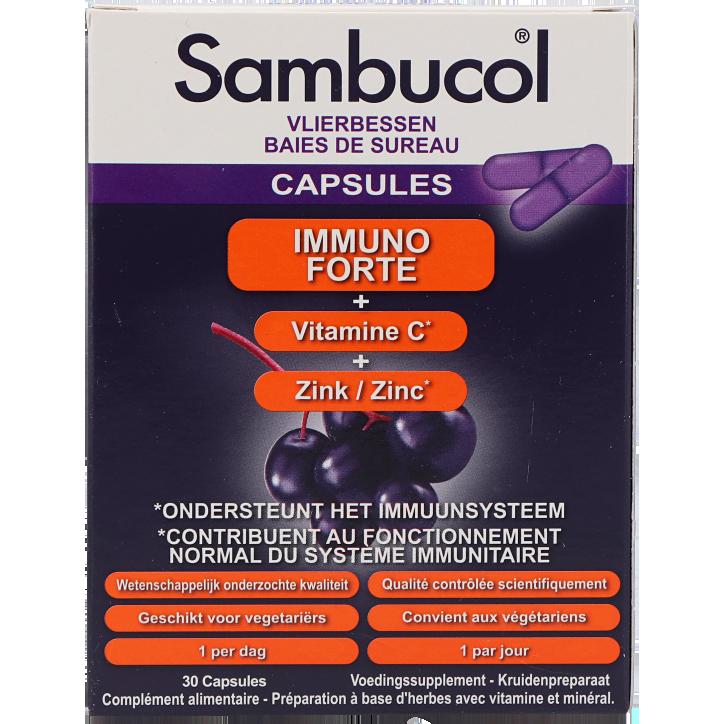 Sambucol Immuno Forte (30 Capsules)