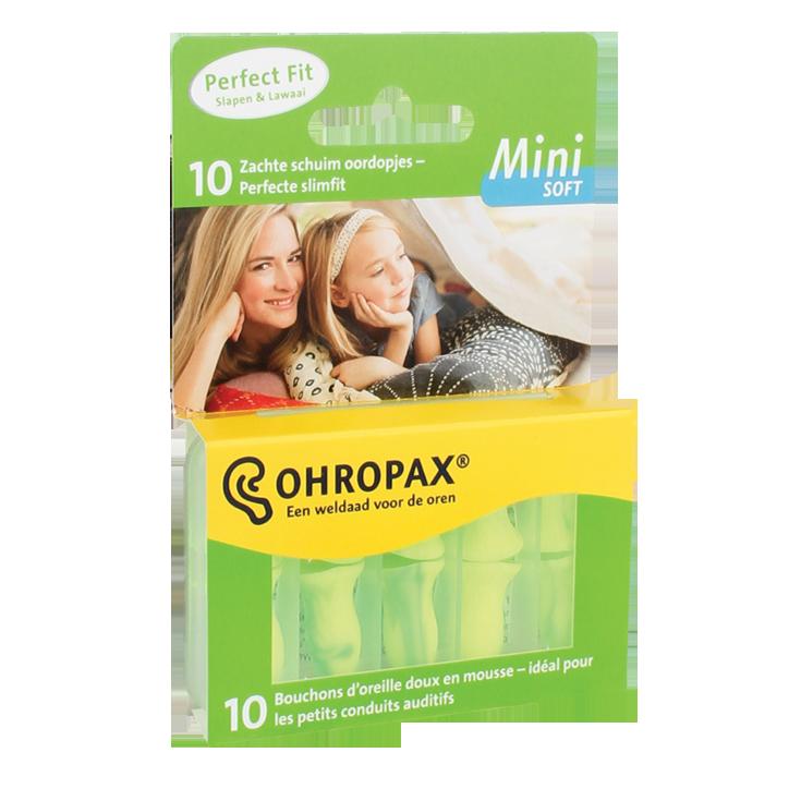Ohropax Mini Soft Oordopjes