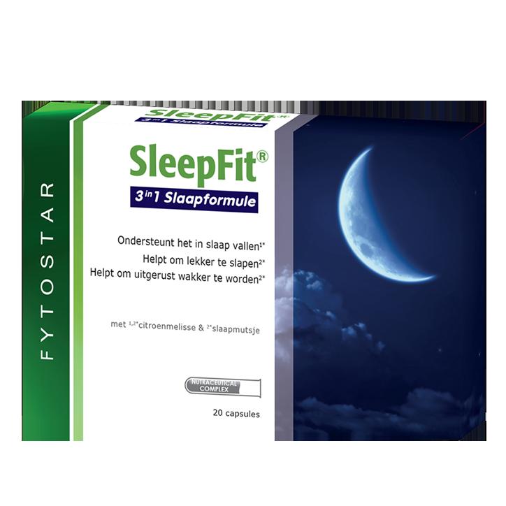 Fytostar SleepFit + Melatonine (20 Capsules)