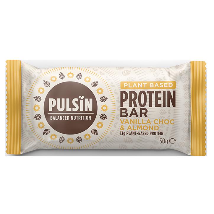 Pulsin' Vanilla Choc Chip Protein Booster (50gr)