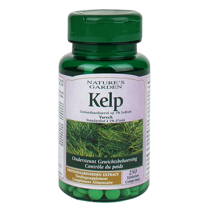 Nature's Garden Kelp, 15mg (250 Tabletten)