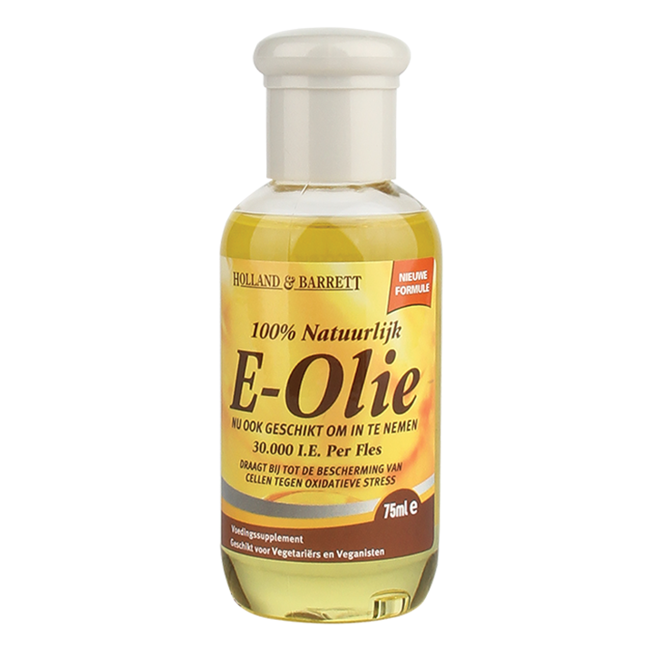 Holland & Barrett Vitamine E Olie 100% Natuurlijk (75ml)