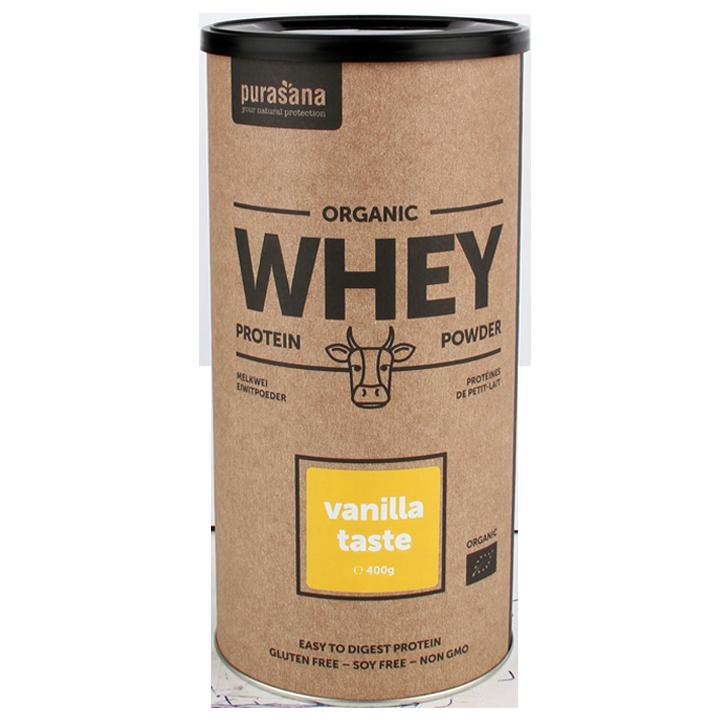 Purasana Whey Protein Vanille Bio (400gr)
