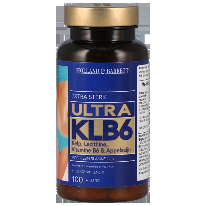 Holland & Barrett Ultra Klb 6 Extra Sterk (100 Tabletten)