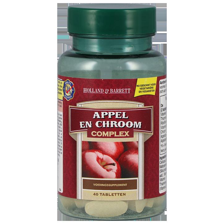 Holland & Barrett Appel & Chroom Complex (40 Tabletten)