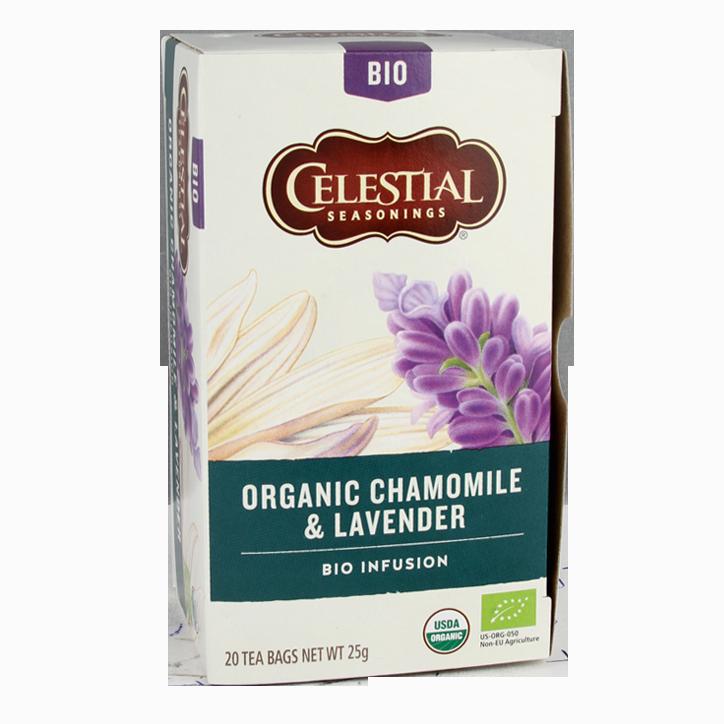 Celestial Seasonings Chamomile & Lavender Tea Bio (20 Theezakjes)