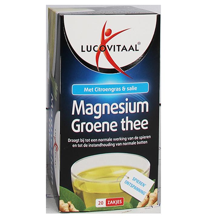Lucovitaal Magnesium Groene Thee (20 Theezakjes)