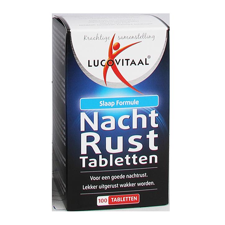 Lucovitaal Nachtrust tabletten