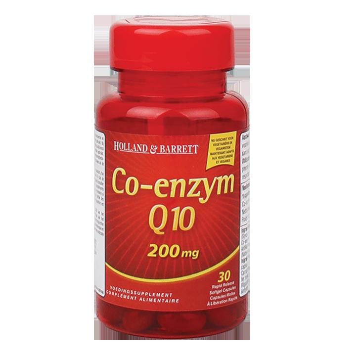 Holland & Barrett Co-Enzym Q10, 200mg (30 Capsules)
