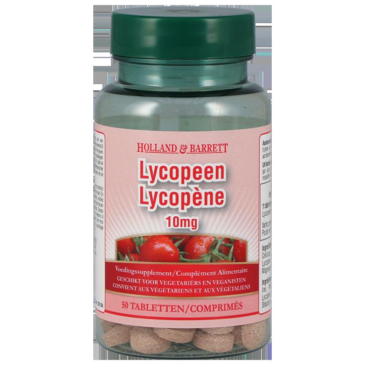 Holland & Barrett Lycopeen, 10mg (50 Tabletten)