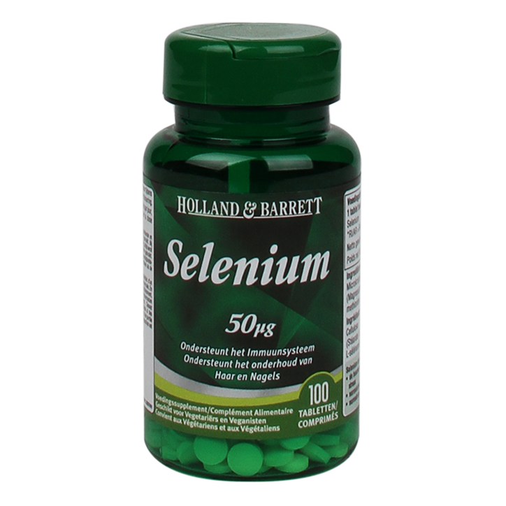 Holland & Barrett Selenium, 50mcg (100 Tabletten)