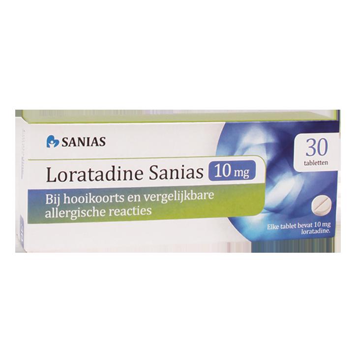 Loratadine Sanias, 10mg (30 Tabletten)