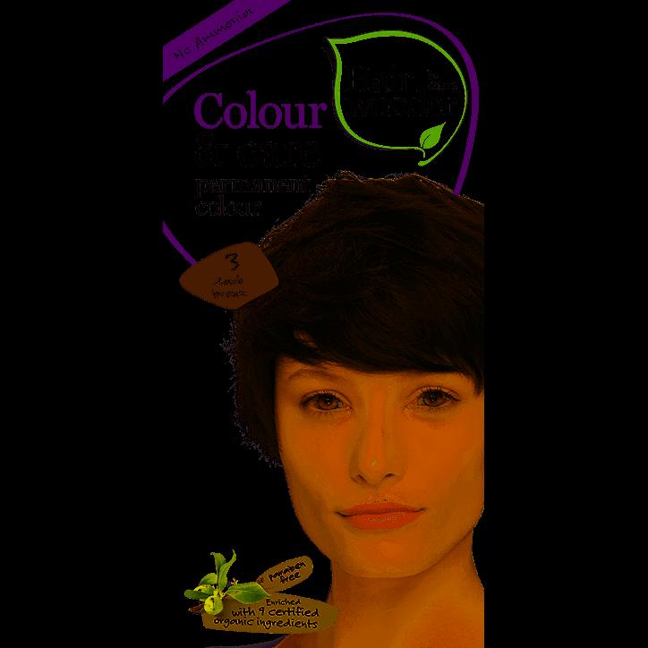 Hairwonder Colour & Care Dark Brown 3