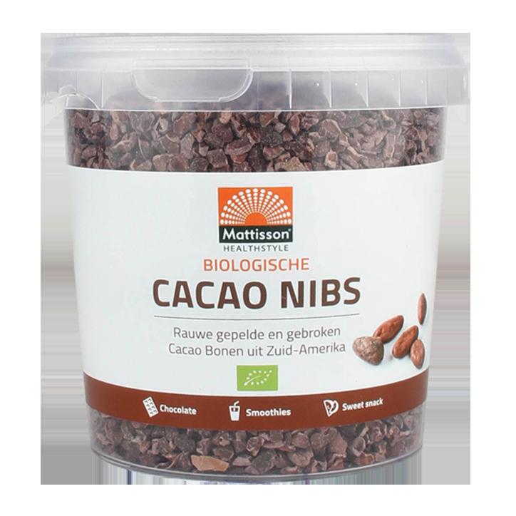 Mattisson Fèves de cacao crues Bio