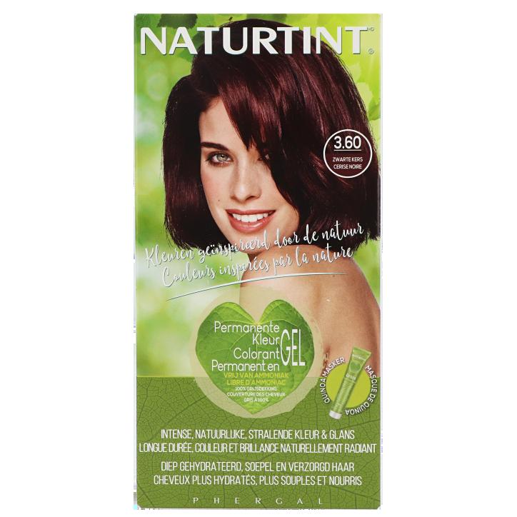 Naturtint Permanente Haarkleuring 3.60 Zwarte Kers