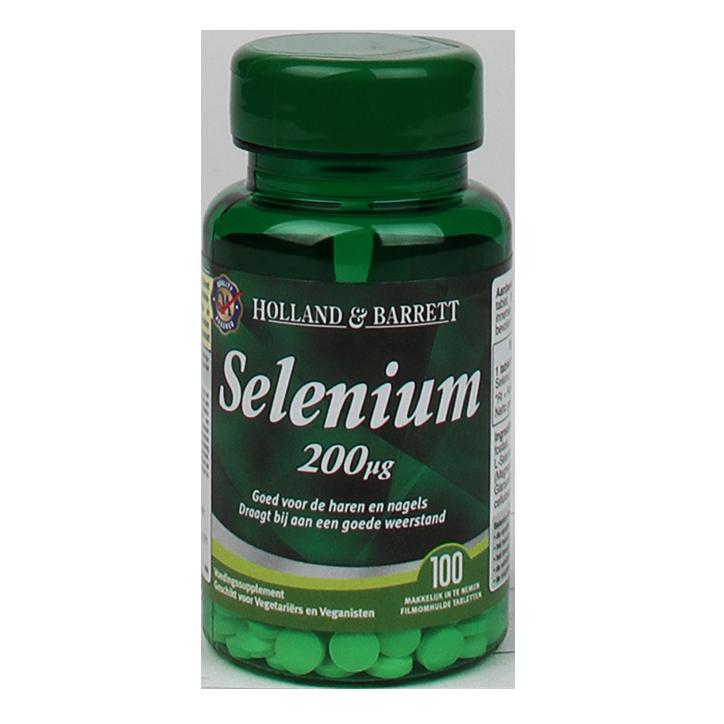 Holland & Barrett Selenium, 200mcg (100 Tabletten)