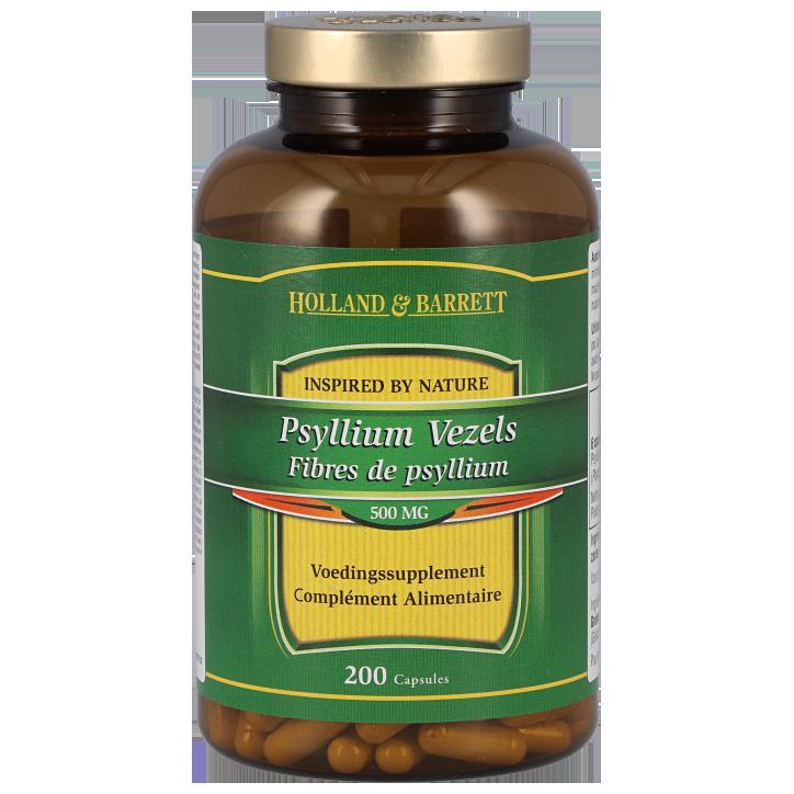 Holland & Barrett Psyllium Vezels 500mg Capsules