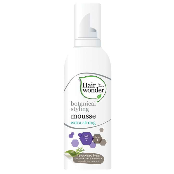 Hairwonder Botanical Styling Mousse Extra Strong