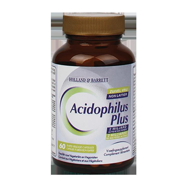 Holland & Barrett Acidophilus Plus Zuivelvrij (60 Capsules)
