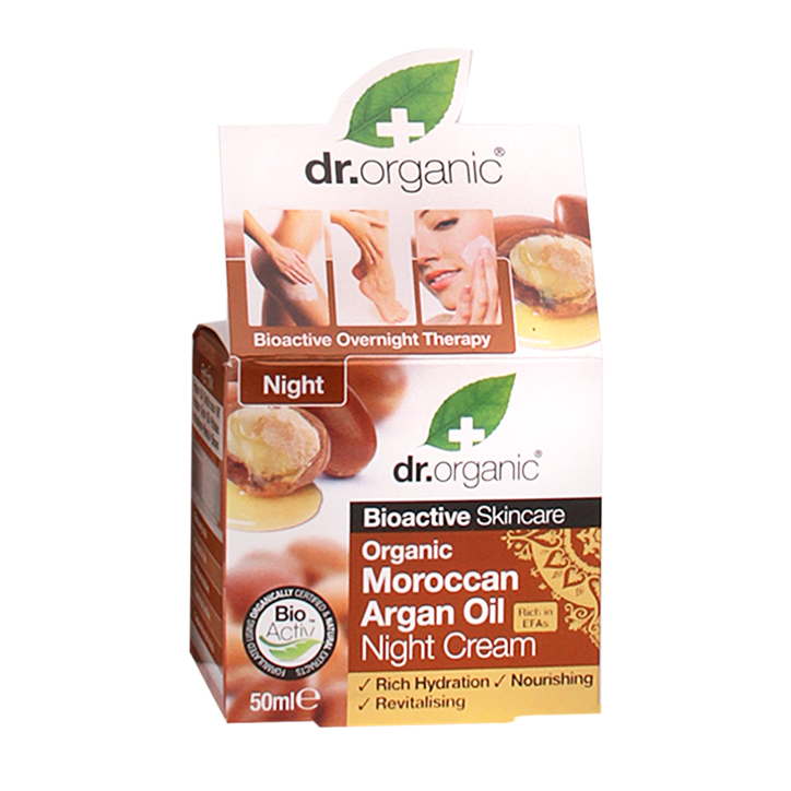 Dr. Organic Moroccan Argan Oil Night Cream